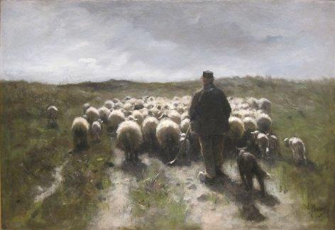 'Shepherd_and_Sheep'_by_Anton_Mauve,_Cincinnati_Art_Museum